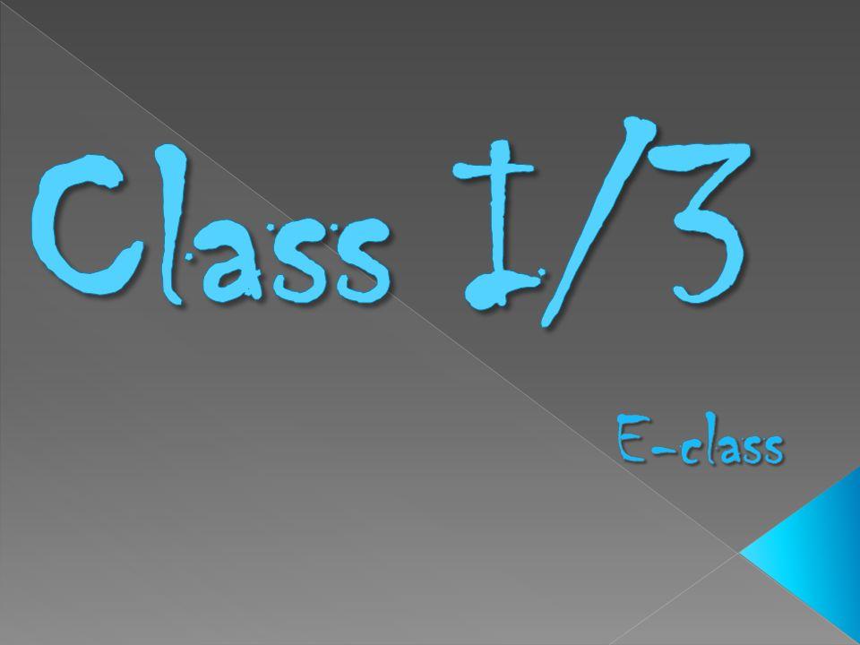 Class I/3 E-class