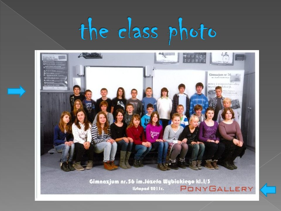 the class photo