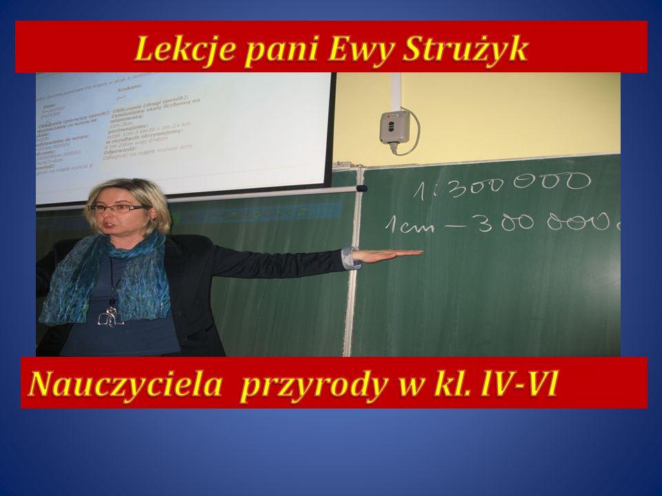 Lekcje pani Ewy Strużyk