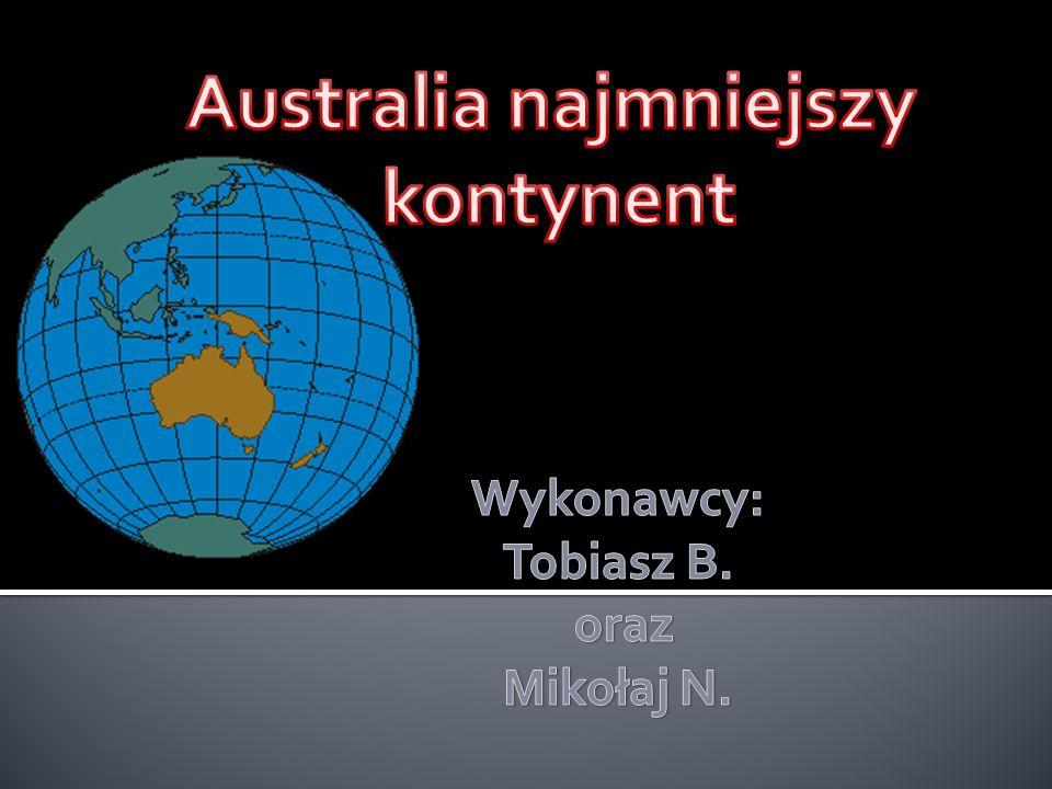 Australia najmniejszy