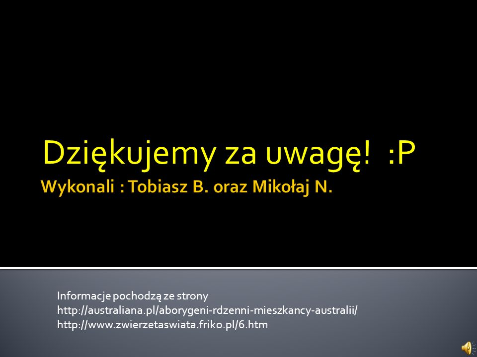 Wykonali : Tobiasz B. oraz Mikołaj N.