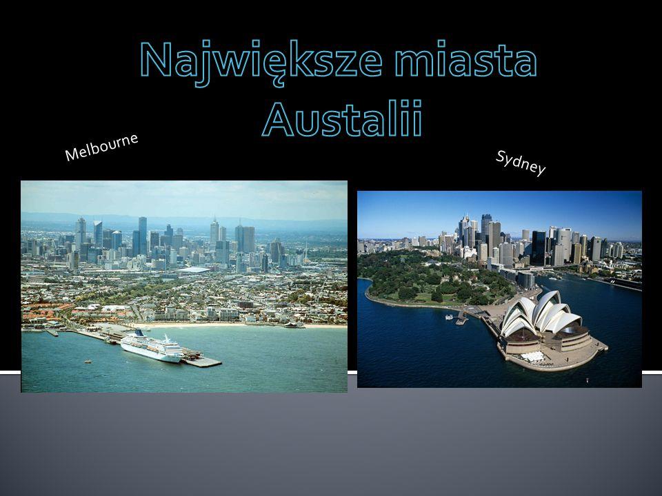 Największe miasta Austalii