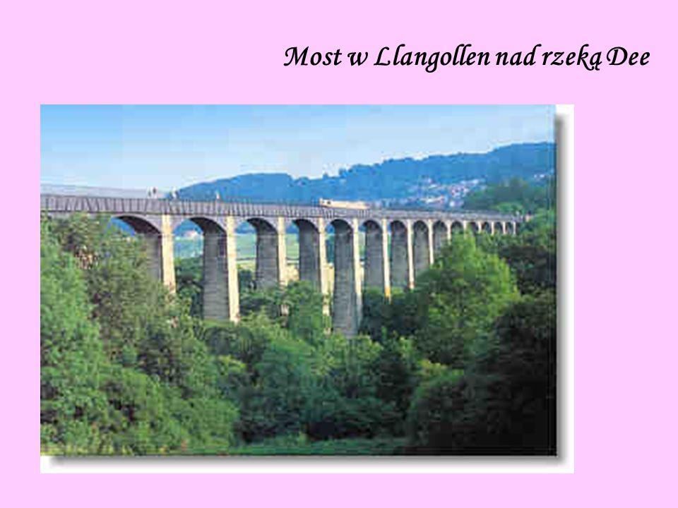 Most w Llangollen nad rzeką Dee