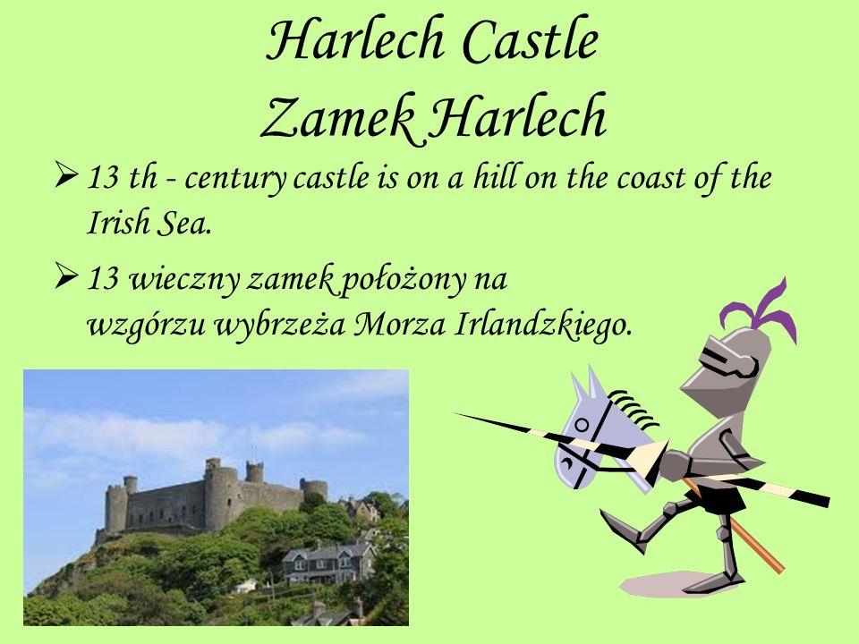 Harlech Castle Zamek Harlech