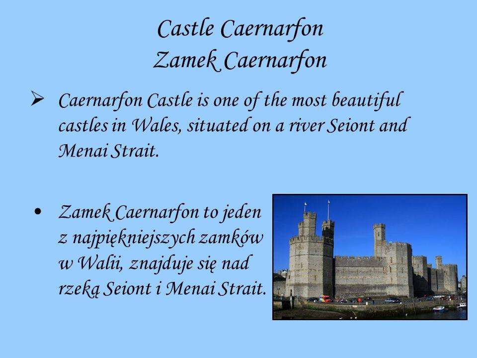 Castle Caernarfon Zamek Caernarfon