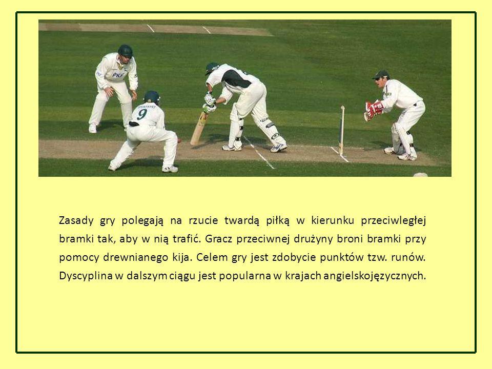 Zasady gry polegają na rzucie twardą piłką w kierunku przeciwległej bramki tak, aby w nią trafić.