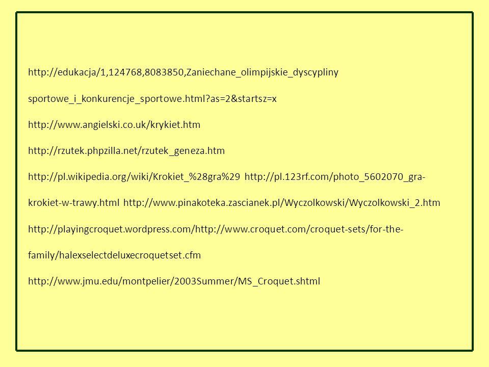 http://edukacja/1,124768,8083850,Zaniechane_olimpijskie_dyscypliny sportowe_i_konkurencje_sportowe.html as=2&startsz=x