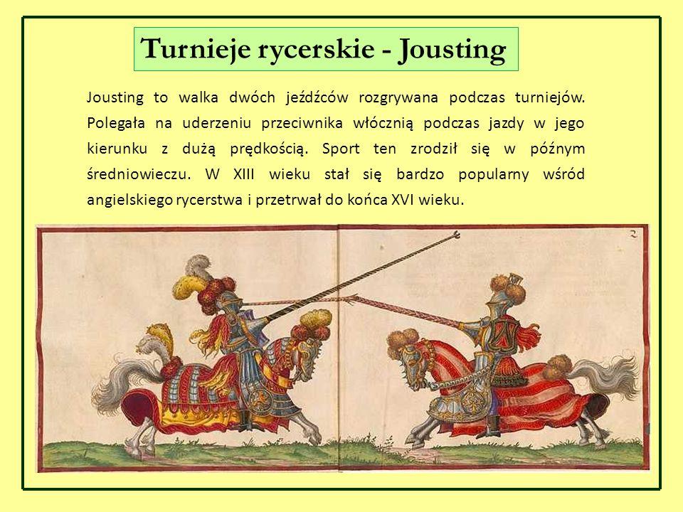Turnieje rycerskie - Jousting