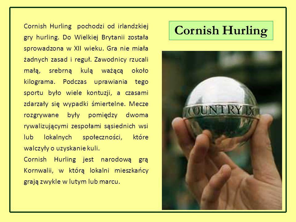 Cornish Hurling pochodzi od irlandzkiej gry hurling