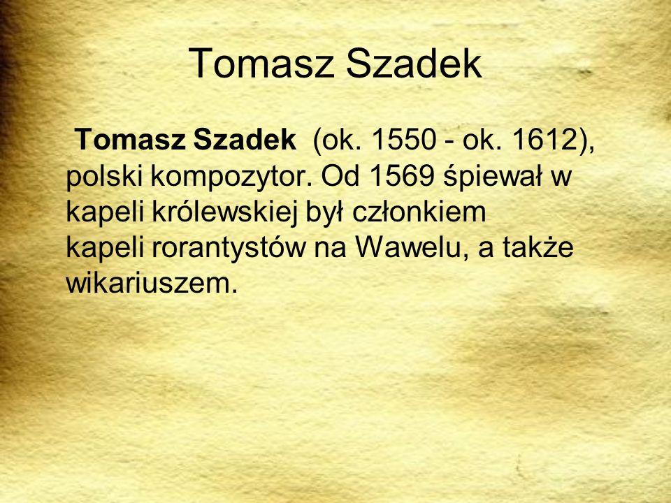 Tomasz Szadek