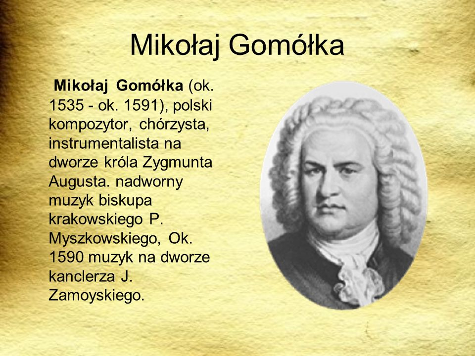 Mikołaj Gomółka