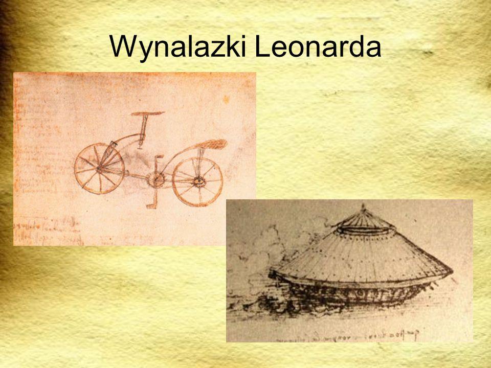 Wynalazki Leonarda