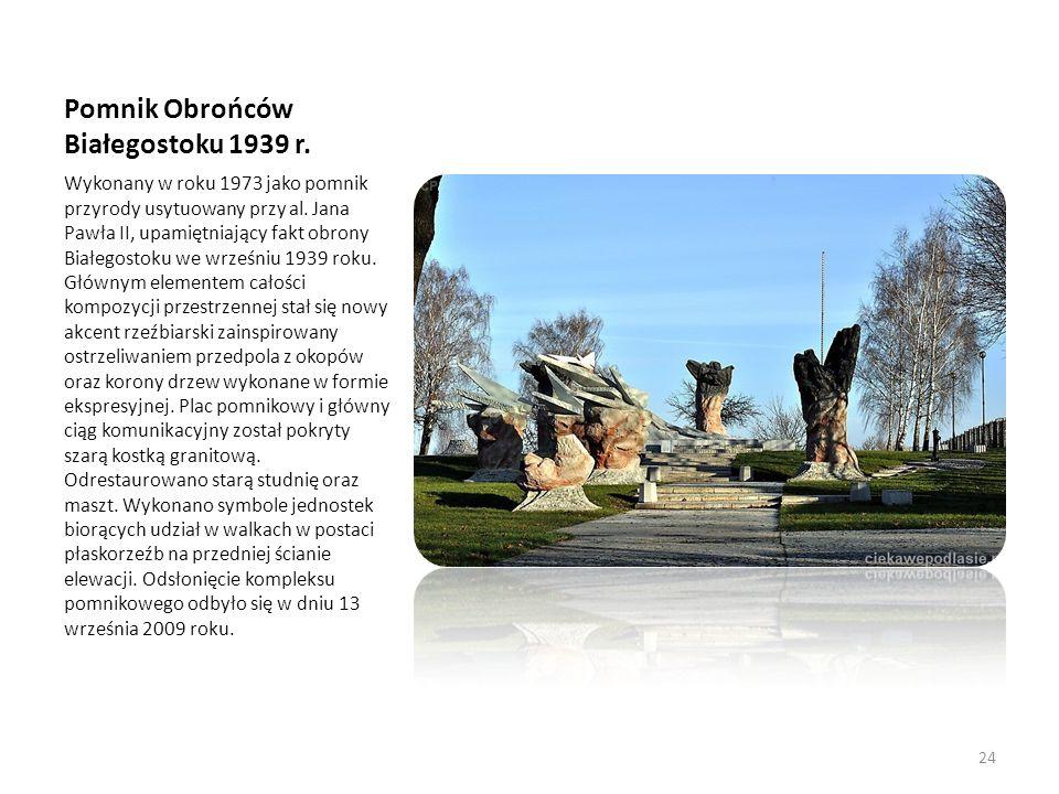 Pomnik Obrońców Białegostoku 1939 r.