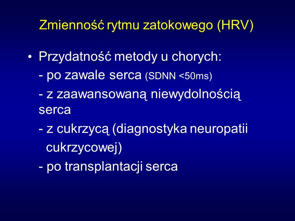 Zmienność rytmu zatokowego (HRV)