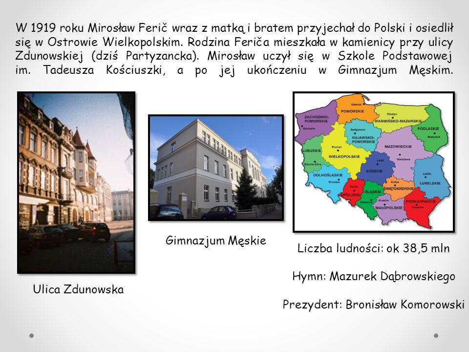 Liczba ludności: ok 38,5 mln Hymn: Mazurek Dąbrowskiego