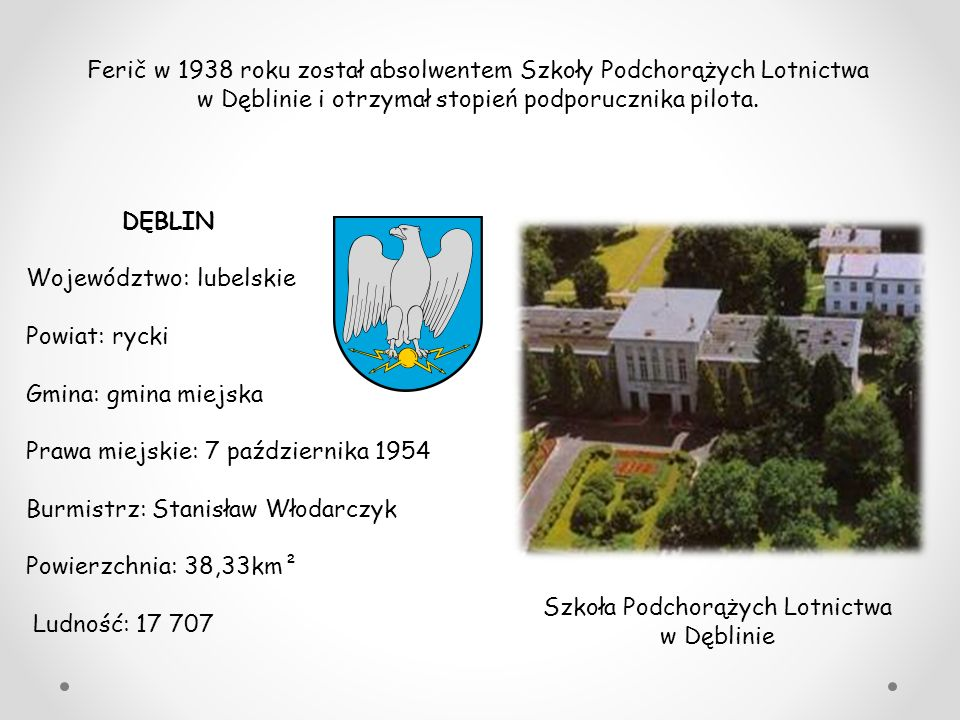 Szkoła Podchorążych Lotnictwa w Dęblinie