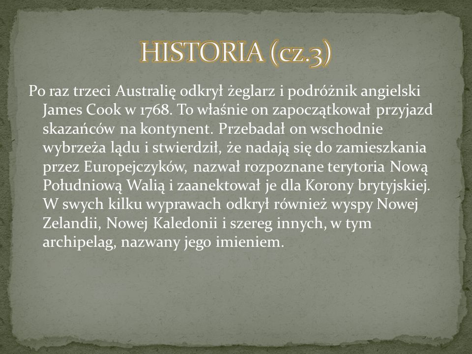 HISTORIA (cz.3)