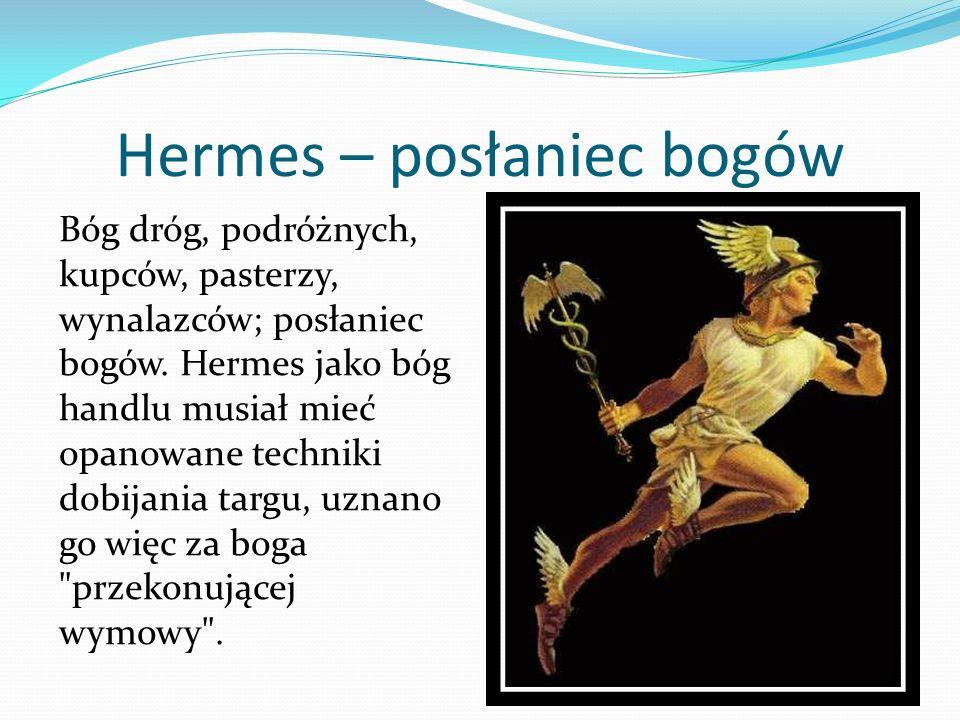 Hermes – posłaniec bogów