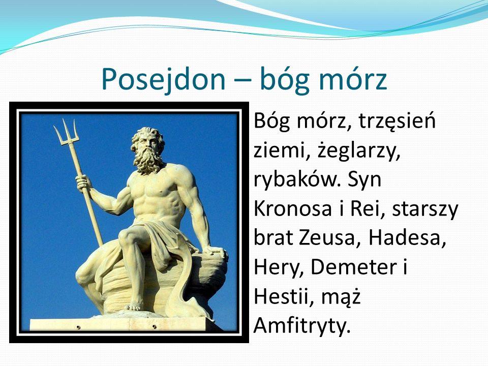 Posejdon – bóg mórz