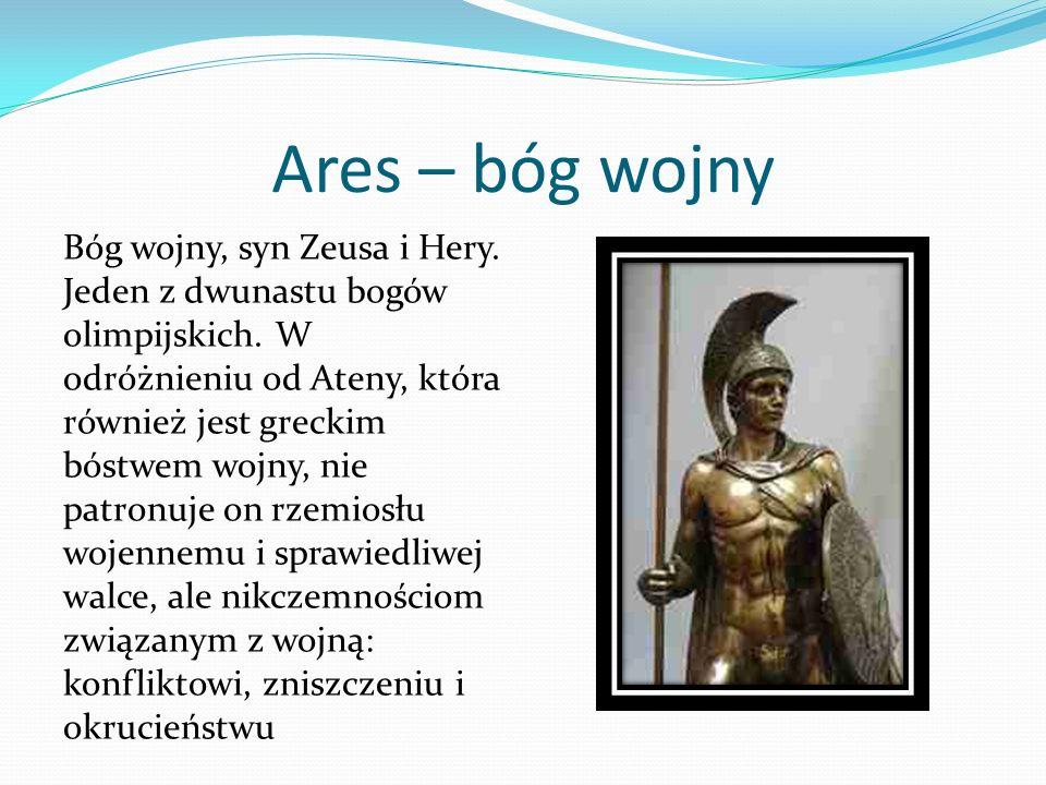 Ares – bóg wojny