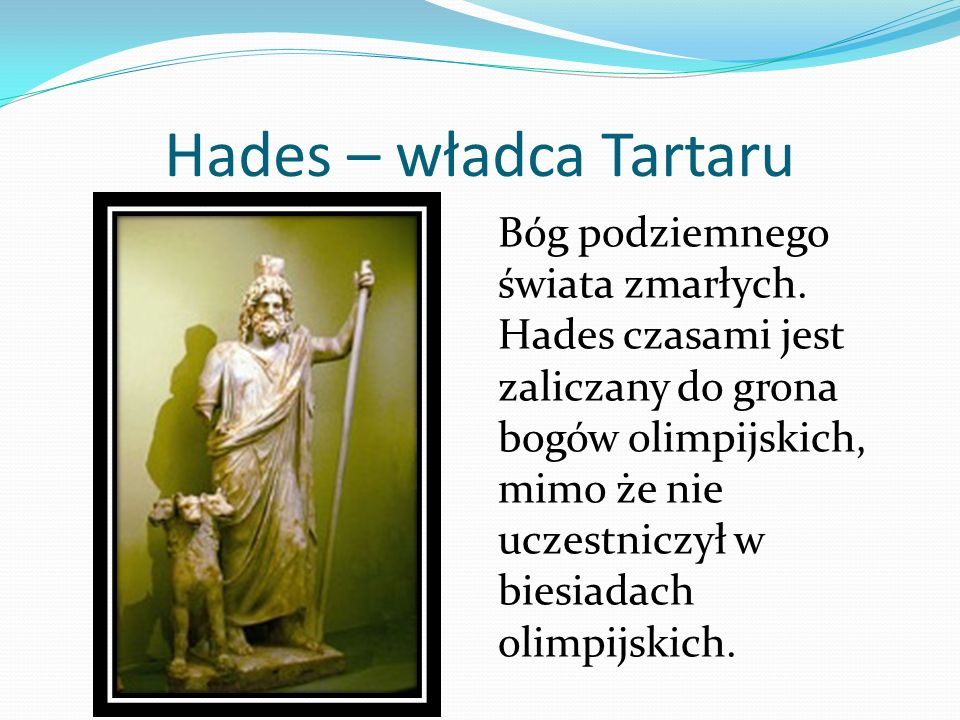 Hades – władca Tartaru