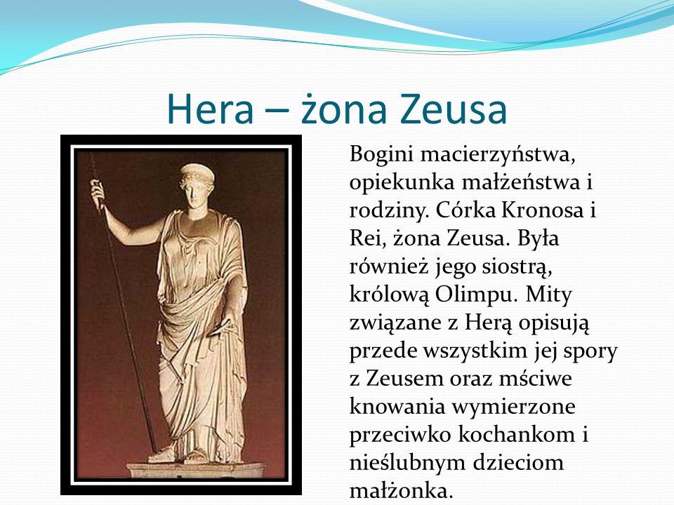 Hera – żona Zeusa
