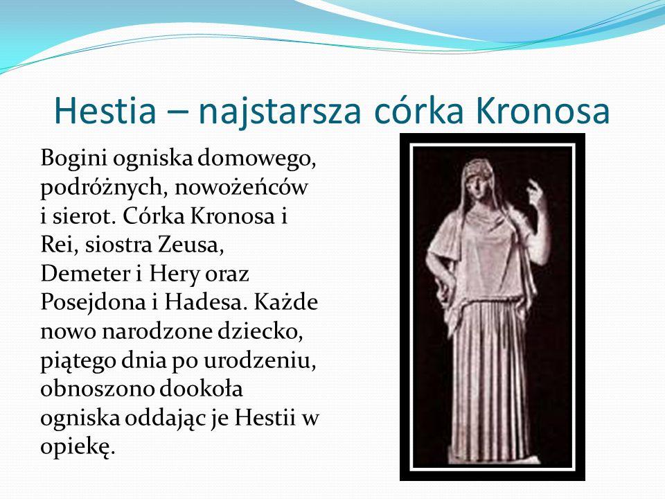 Hestia – najstarsza córka Kronosa