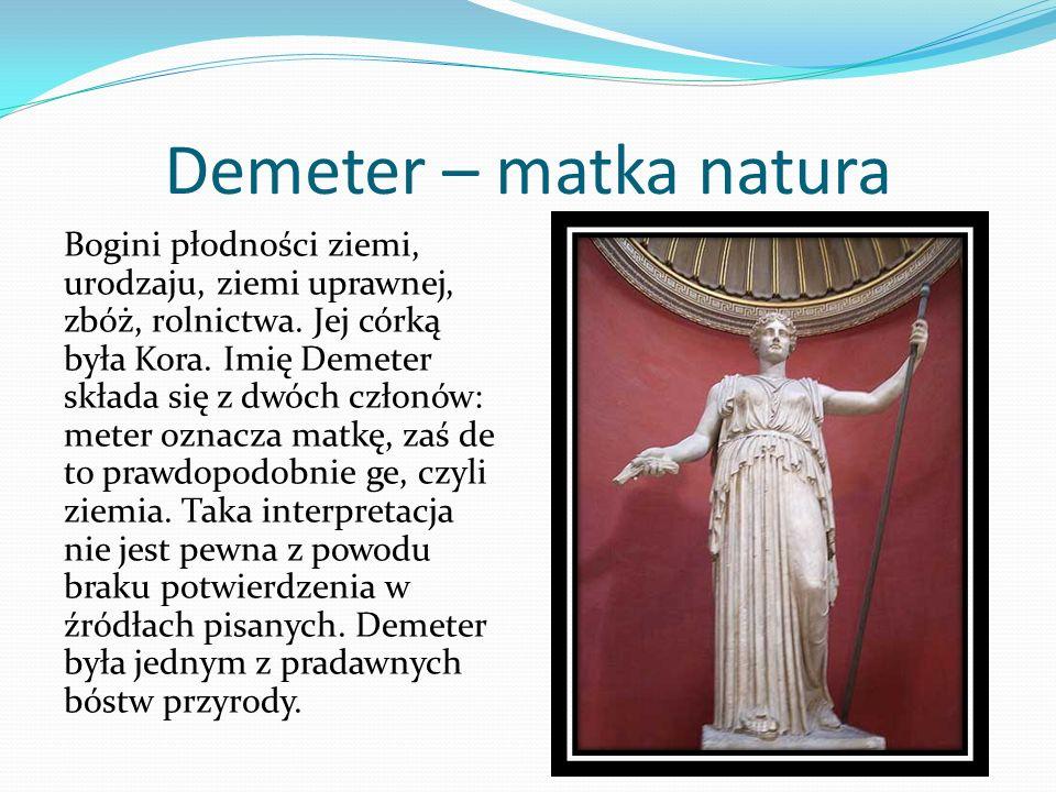 Demeter – matka natura