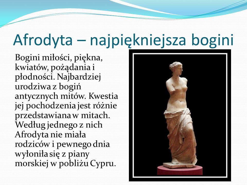 Afrodyta – najpiękniejsza bogini