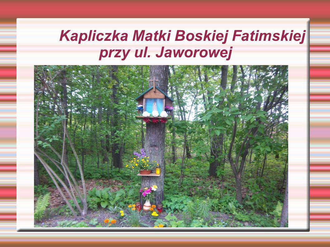 Kapliczka Matki Boskiej Fatimskiej przy ul. Jaworowej