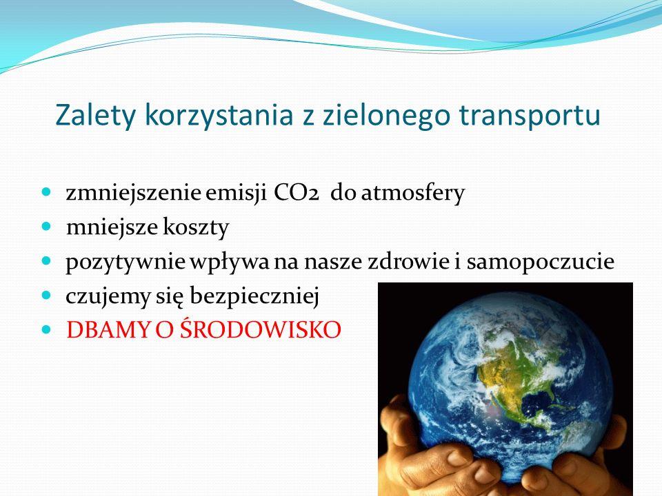 Zalety korzystania z zielonego transportu