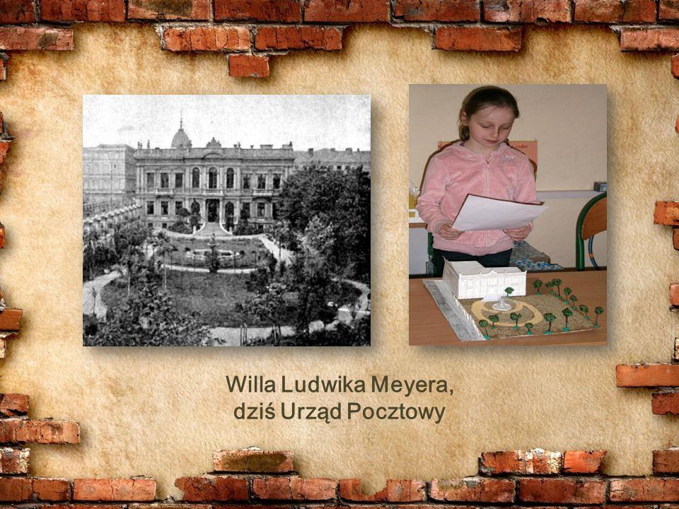 Willa Ludwika Meyera, dziś Urząd Pocztowy