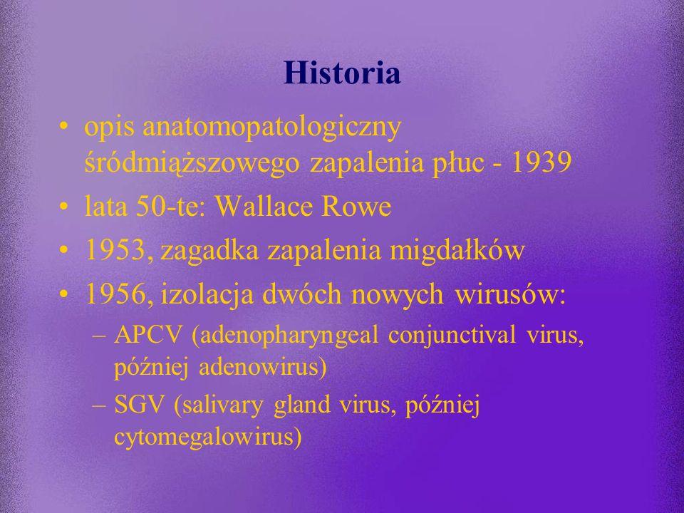 Historia opis anatomopatologiczny śródmiąższowego zapalenia płuc - 1939. lata 50-te: Wallace Rowe.