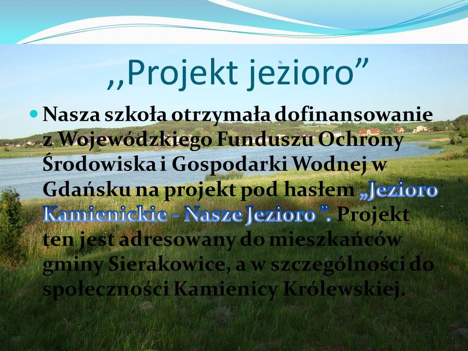 ,,Projekt jezioro