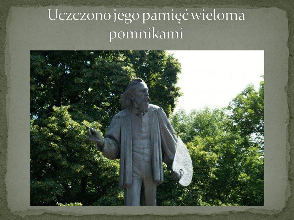 Uczczono jego pamięć wieloma pomnikami