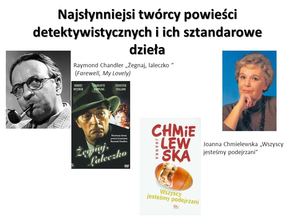 Najsłynniejsi twórcy powieści detektywistycznych i ich sztandarowe dzieła