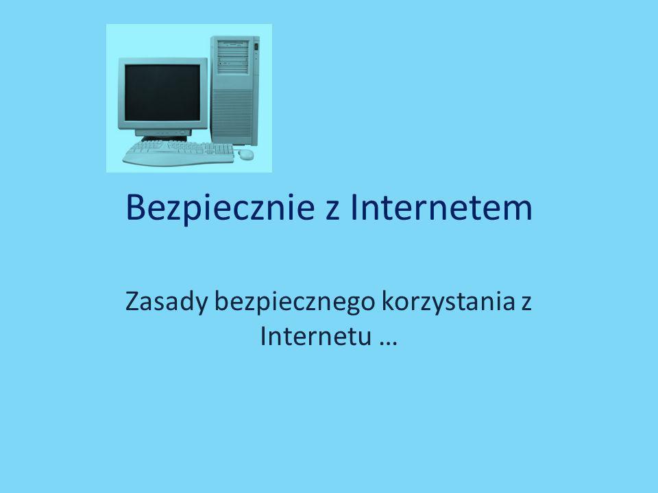 Bezpiecznie z Internetem