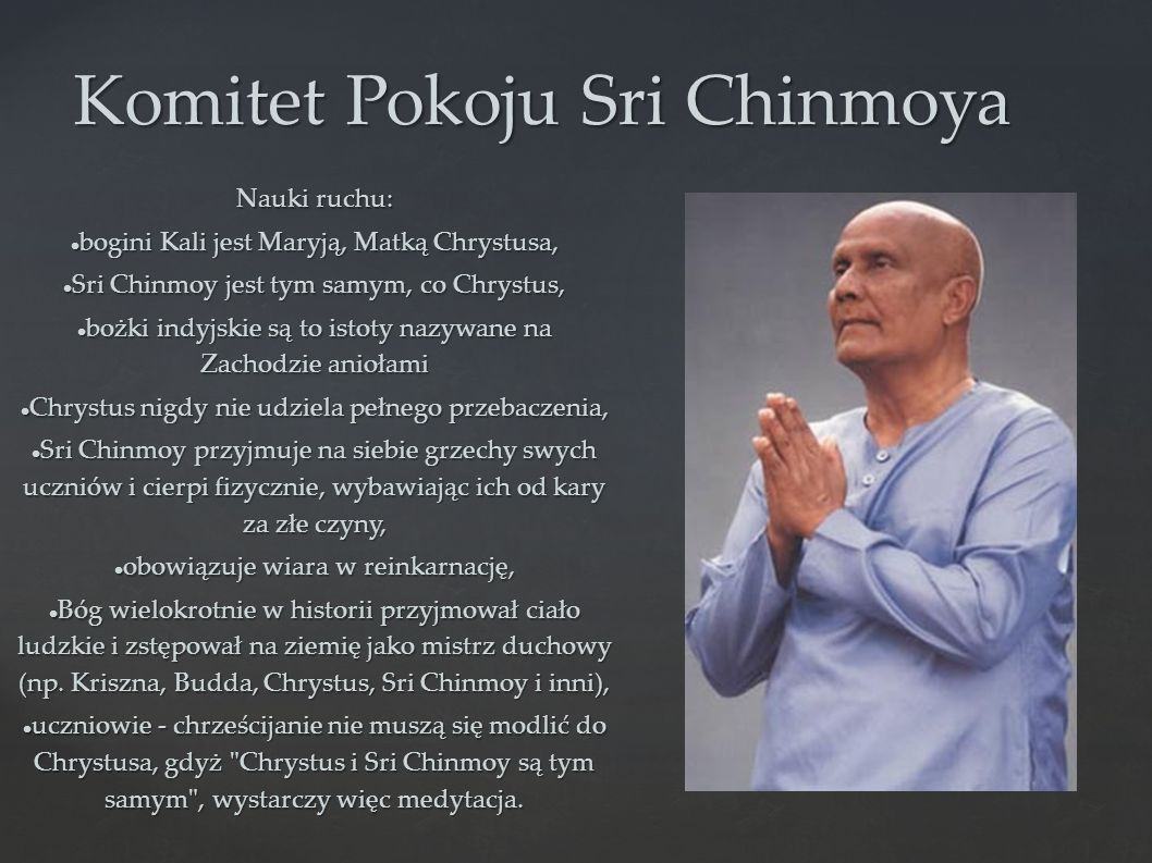 Komitet Pokoju Sri Chinmoya