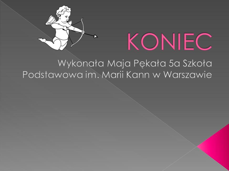 Wykonała Maja Pękała 5a Szkoła Podstawowa im. Marii Kann w Warszawie