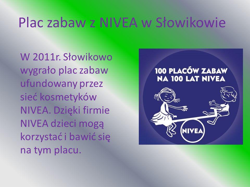 Plac zabaw z NIVEA w Słowikowie