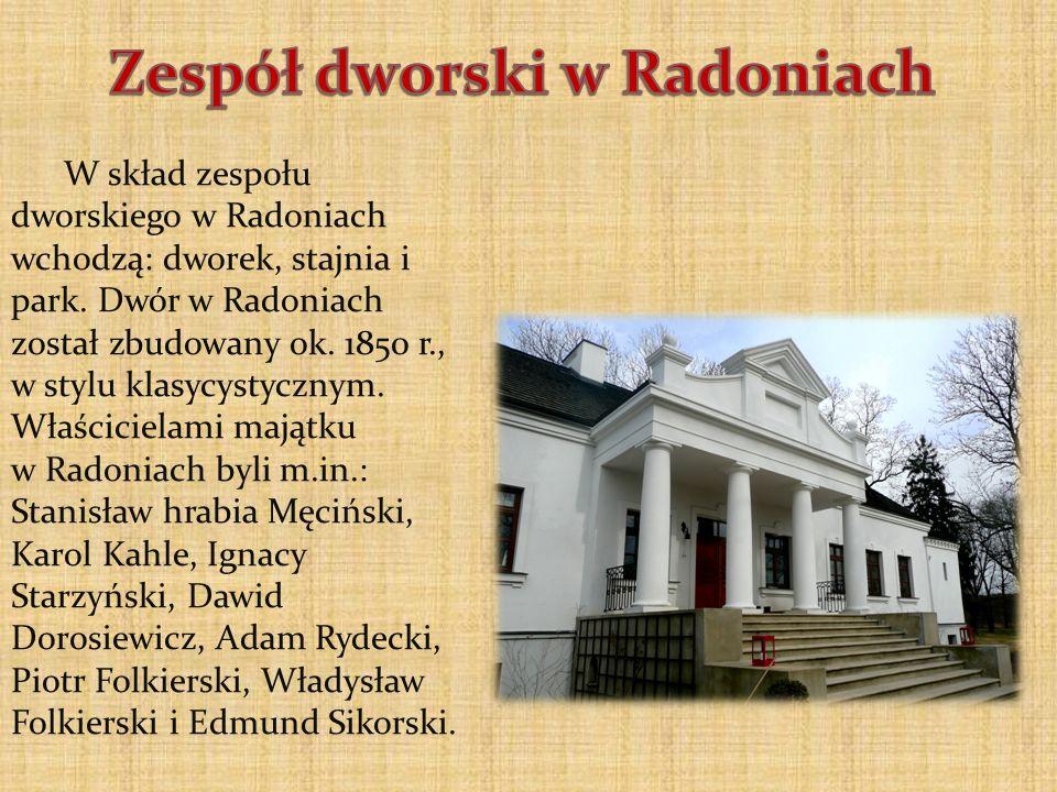 Zespół dworski w Radoniach