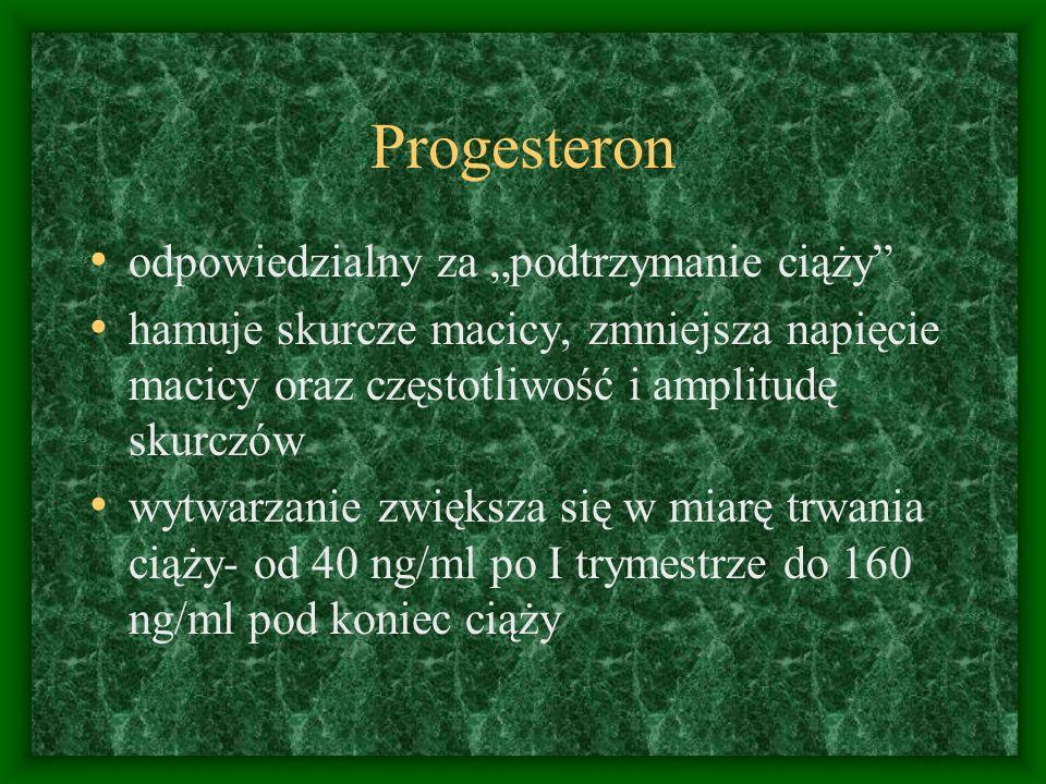 """Progesteron odpowiedzialny za """"podtrzymanie ciąży"""
