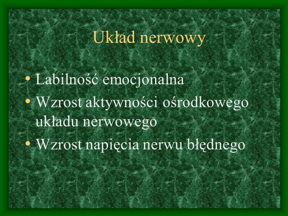 Układ nerwowy Labilność emocjonalna
