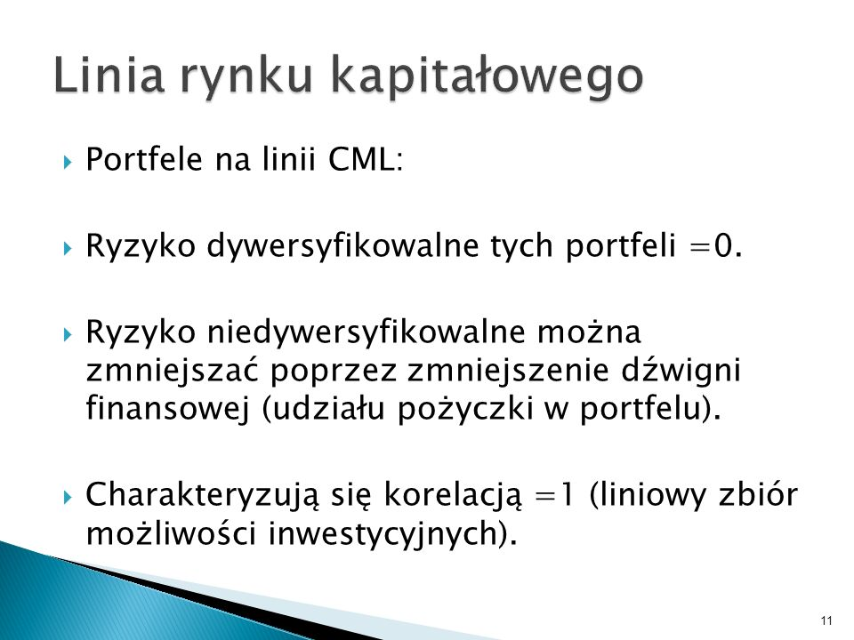 Linia rynku kapitałowego