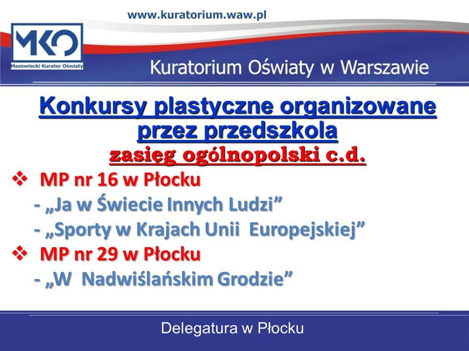 zasięg ogólnopolski c.d.