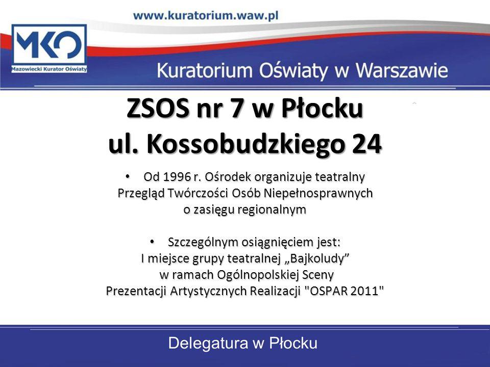 ZSOS nr 7 w Płocku ul. Kossobudzkiego 24