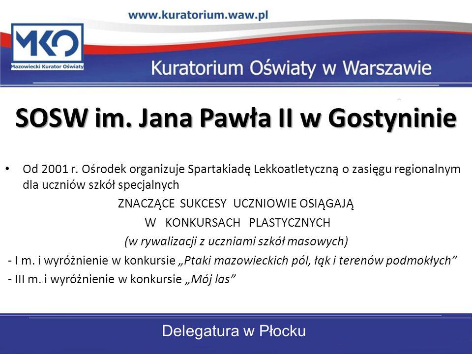 SOSW im. Jana Pawła II w Gostyninie