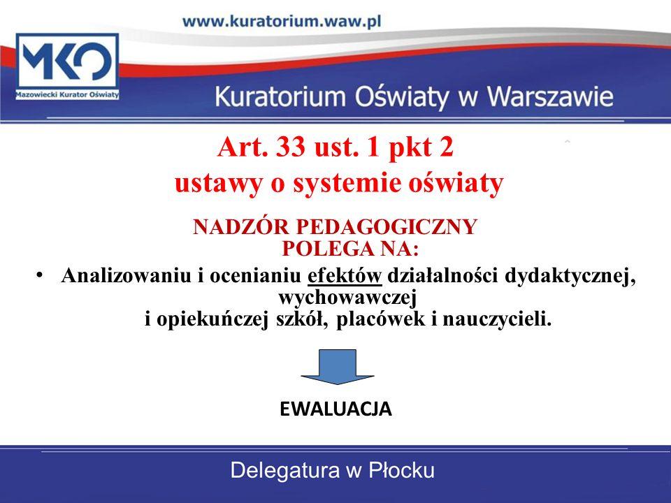 Art. 33 ust. 1 pkt 2 ustawy o systemie oświaty