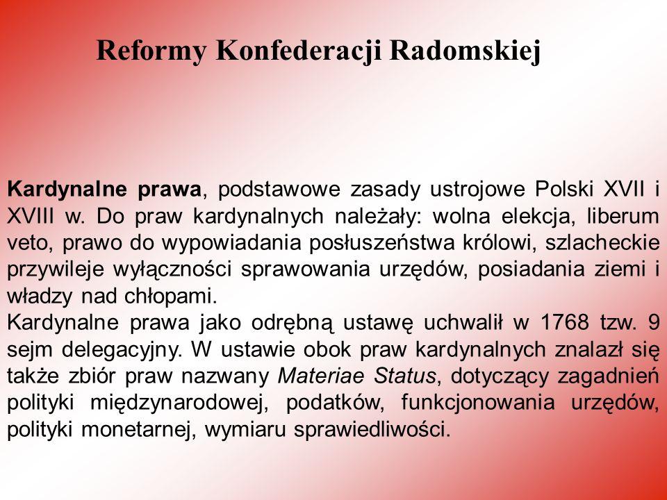Reformy Konfederacji Radomskiej
