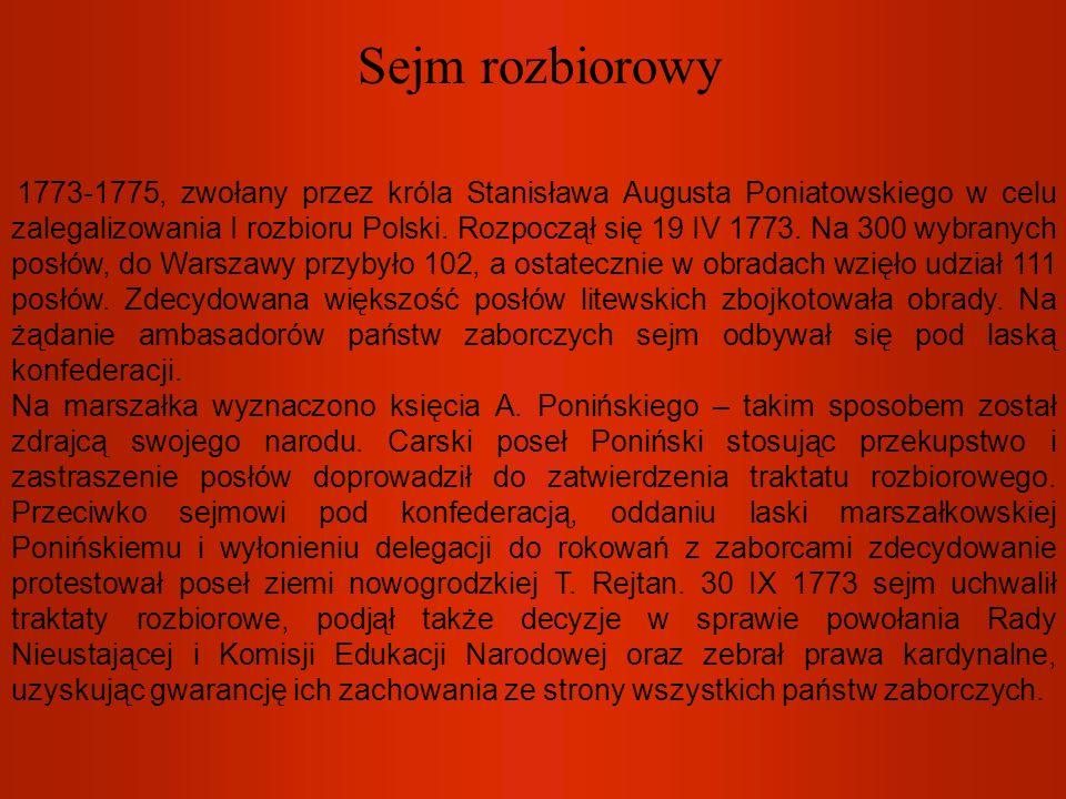 Sejm rozbiorowy